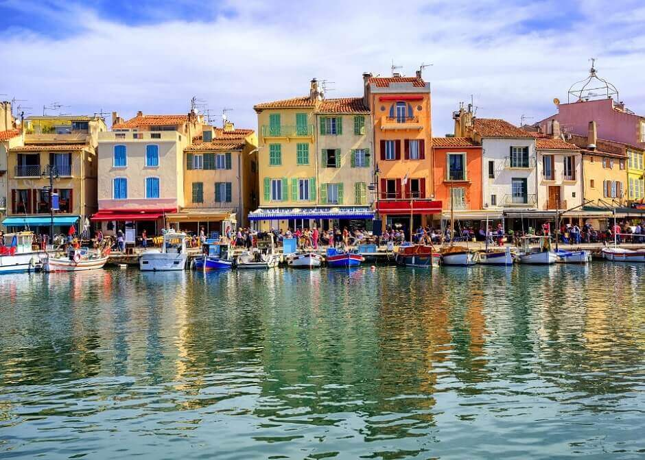 Cassis in Frankreich