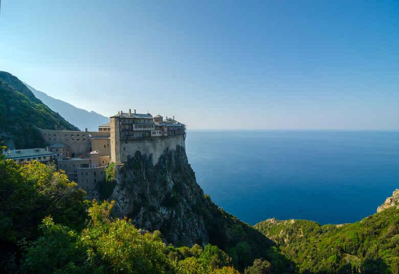 Athos in Griechenland