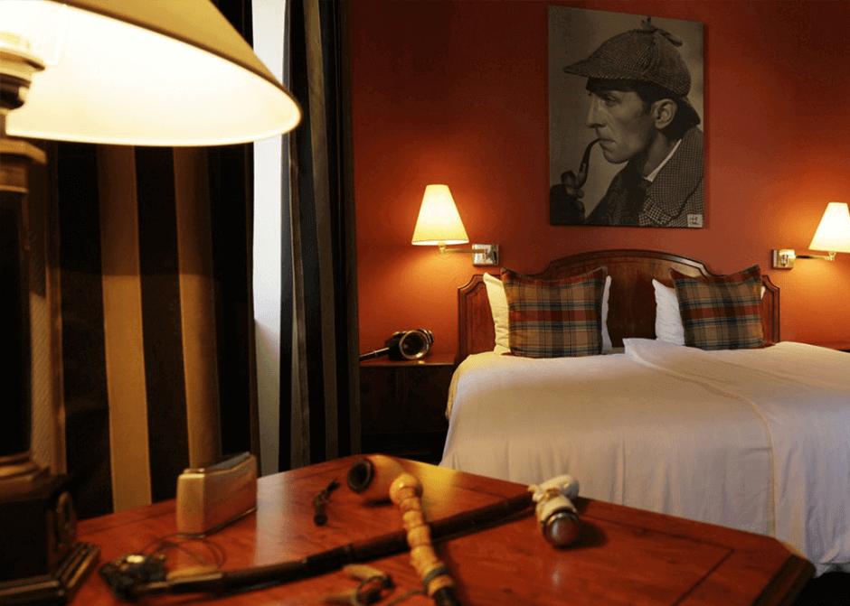 Themenhotel für Krimi-Fans