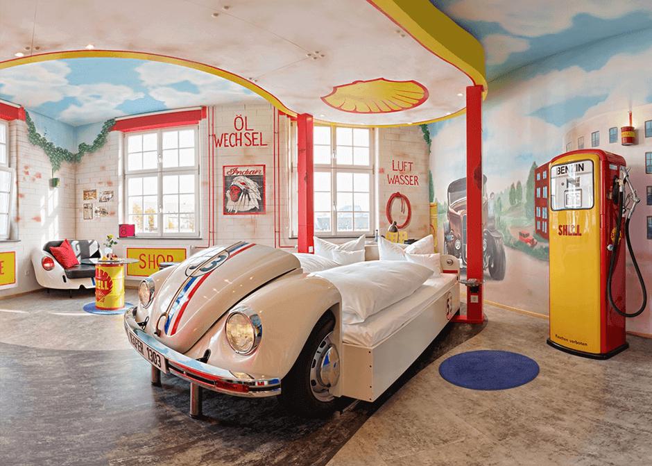 Themenhotel für Autofans