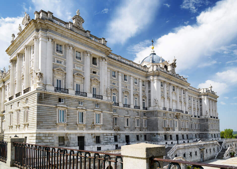 Königspalast in Madrid