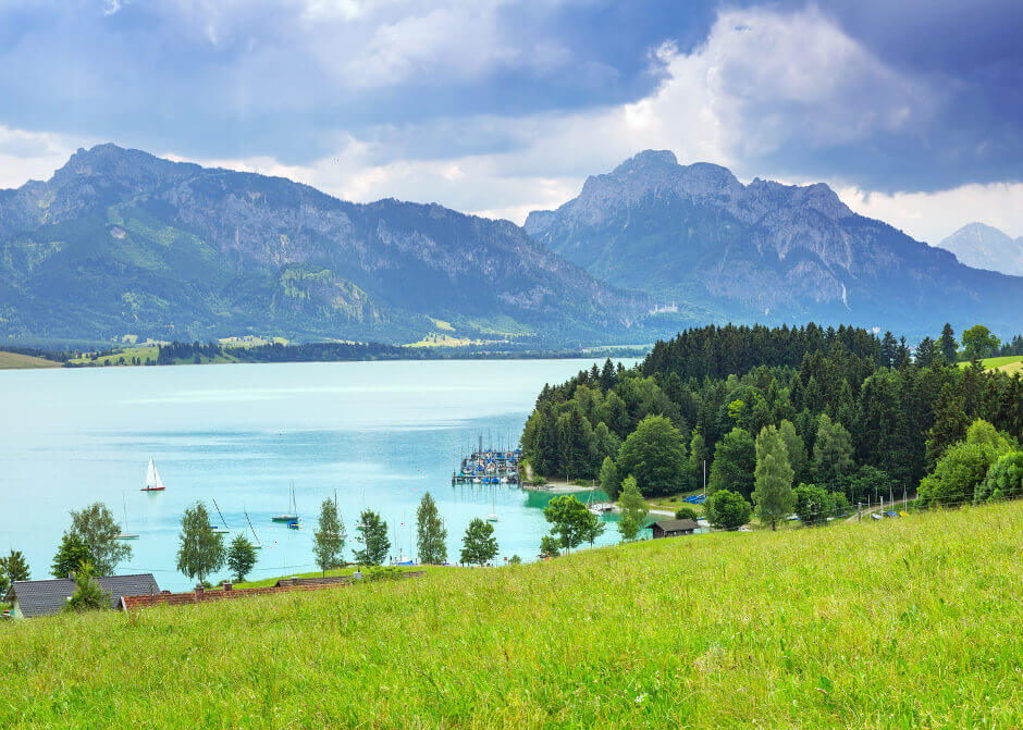 Forggensee in Bayern
