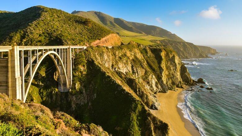 Bixby Creek Bridge in Big Sur, Kalifornien