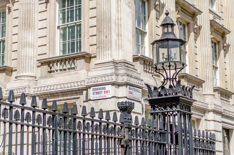 Downing Street Sign, London