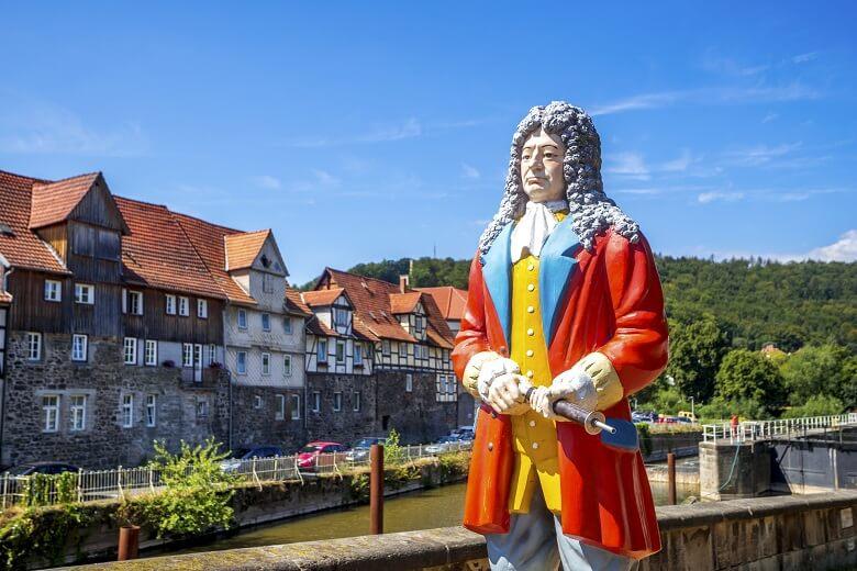 Statue von Doktor Eisenbarth in Hannoversch Münden
