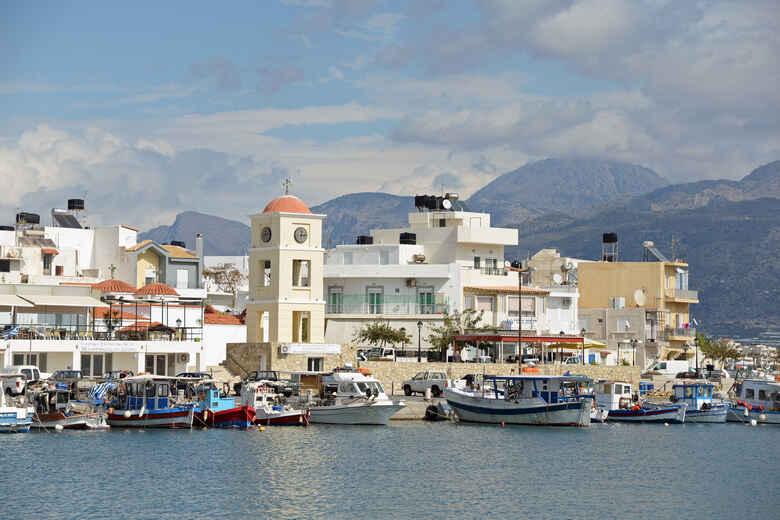Hafen von Ierapetra auf Kreta, Griechenland
