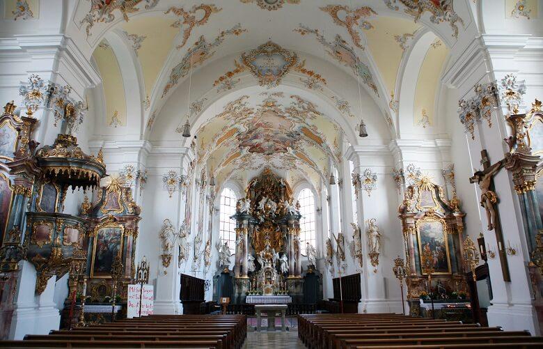 Maria-Himmelfahrt-Kirche in Schongau
