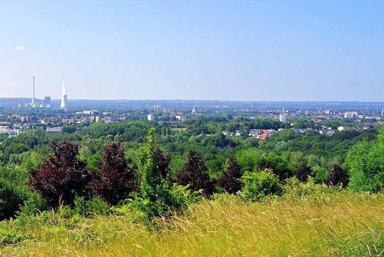 Blick vom Tippelsberg in Bochum