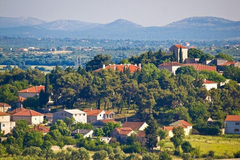 Benkovac in Kroatien