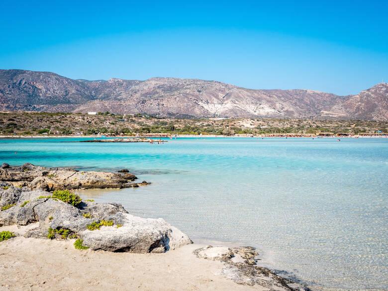 Elafonissi Beach auf Kreta