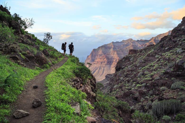 Berge auf der Insel Gran Canaria