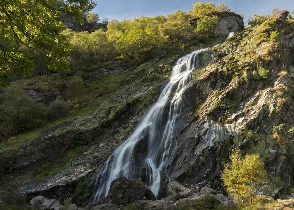 Powerscourt Waterfall in Irland