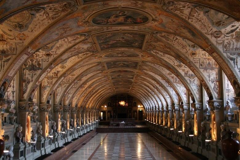 Antiquarium in der Münchner Residenz