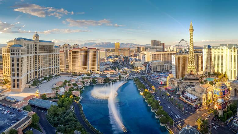 Las Vegas in den USA