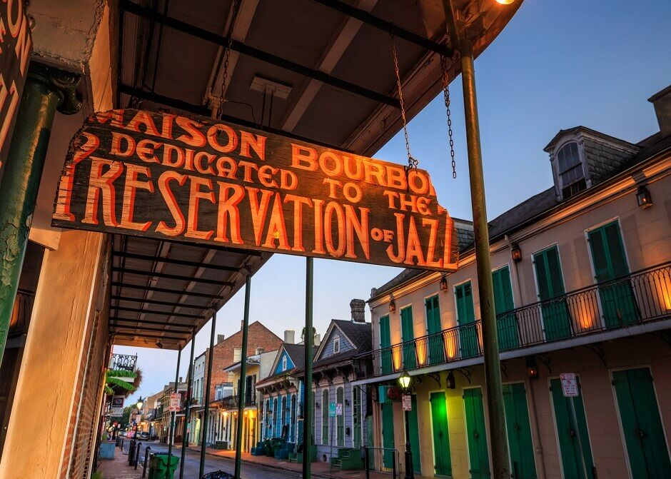 Jazz in New Orleans, USA
