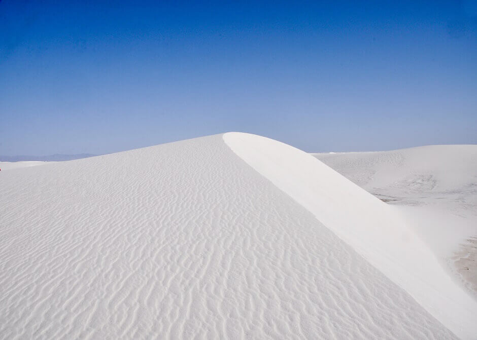 White Sands Dünen in den USA