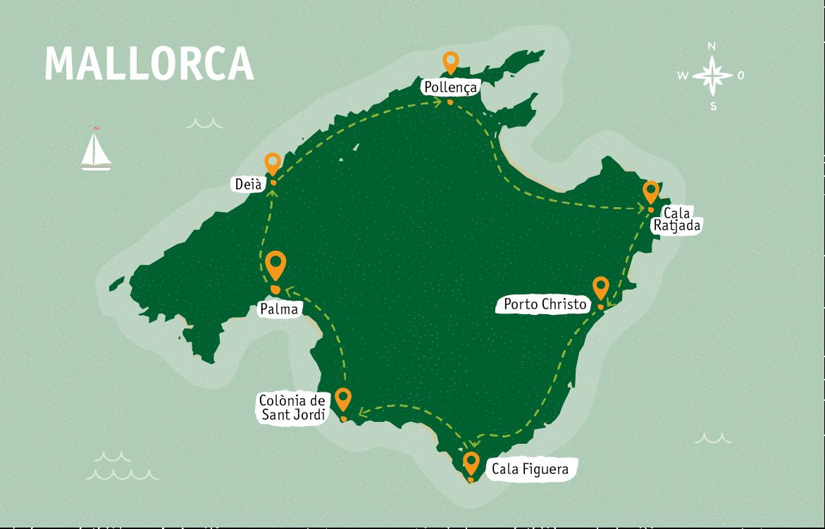 Mallorca-Rundreise mit dem Mietwagen