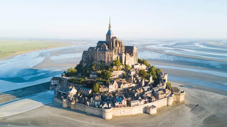 Mont Saint-Michel in Frankreich