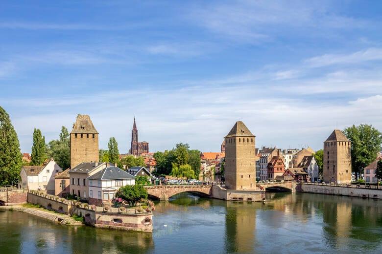 Straßburg in Frankreich mit dem Münster