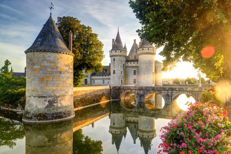 Schloss von Sully-sur-Loire in Frankreich