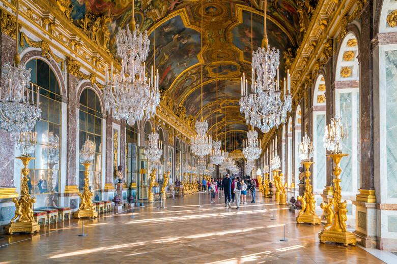 Schlos Versailles in Frankreich