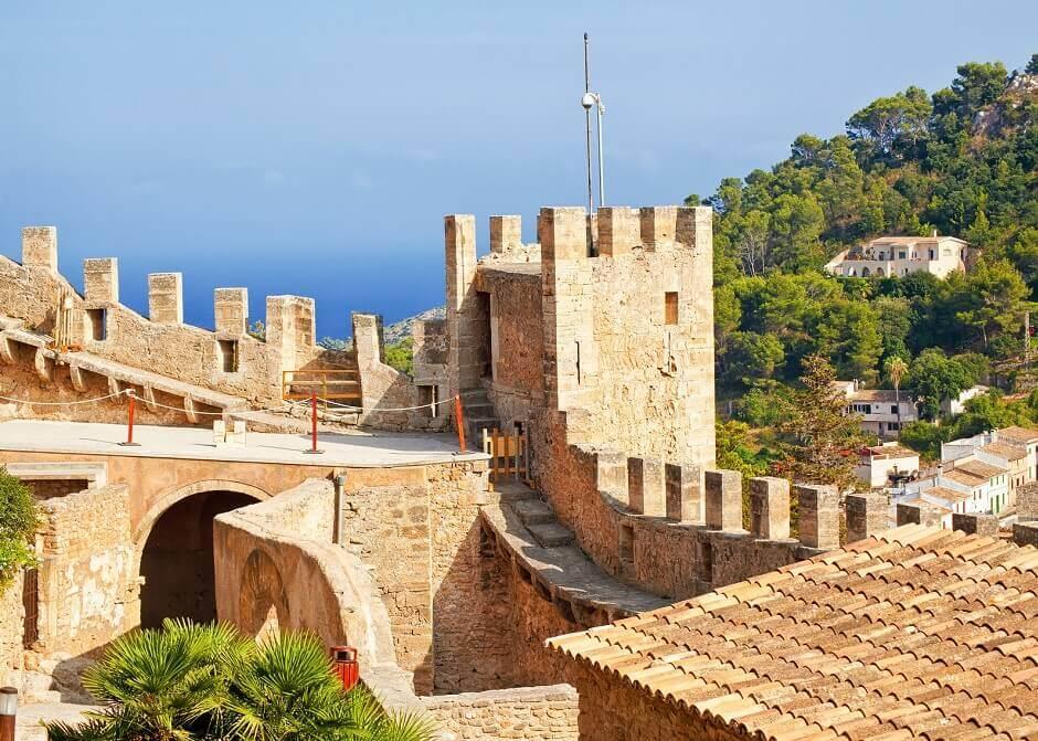 Burg von Capdepera auf Mallorca