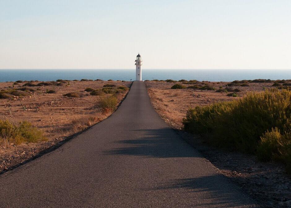 Leuchtturm am Cap de Barbaria