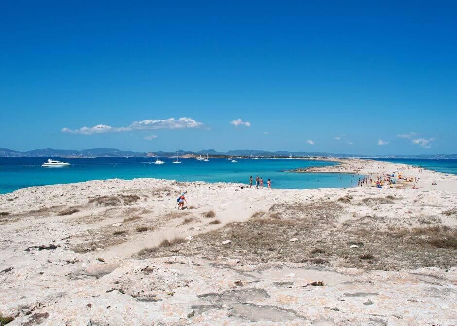 Playa de Illetas auf Formentera