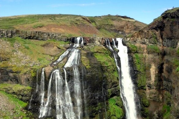 Glymur Wasserfall, Island