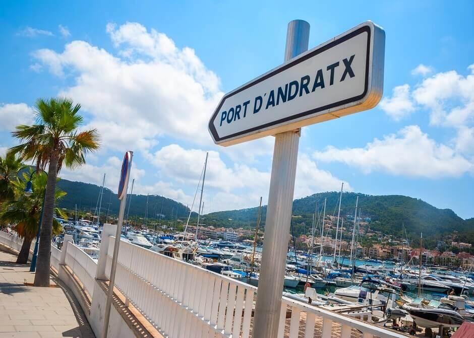 Hafen von Mallorcas Port d'Andratx