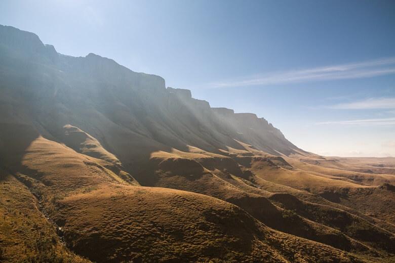 Sani-Pass im Süden der Drakensberge