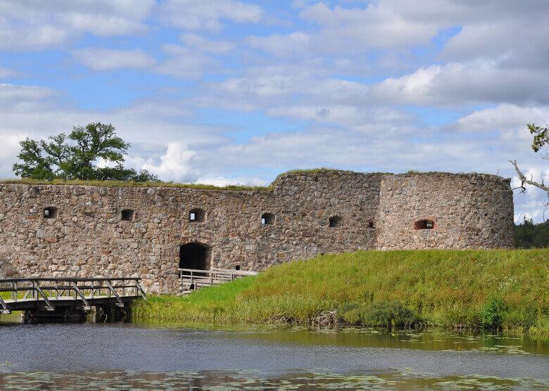 Burgruine Kronoberg in Växjö