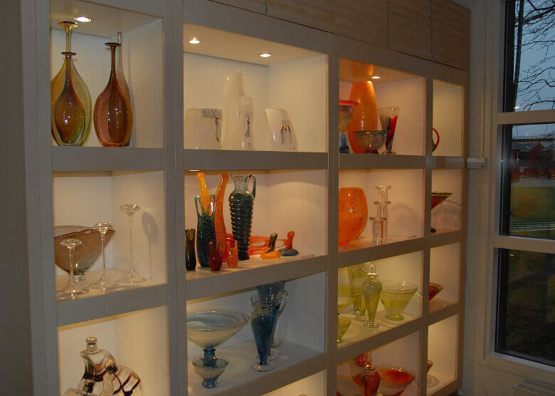 Schwedische Glaskunst