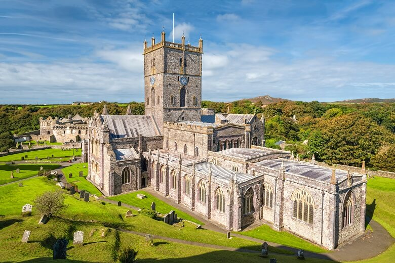 St. Davids Cathedral in Wales