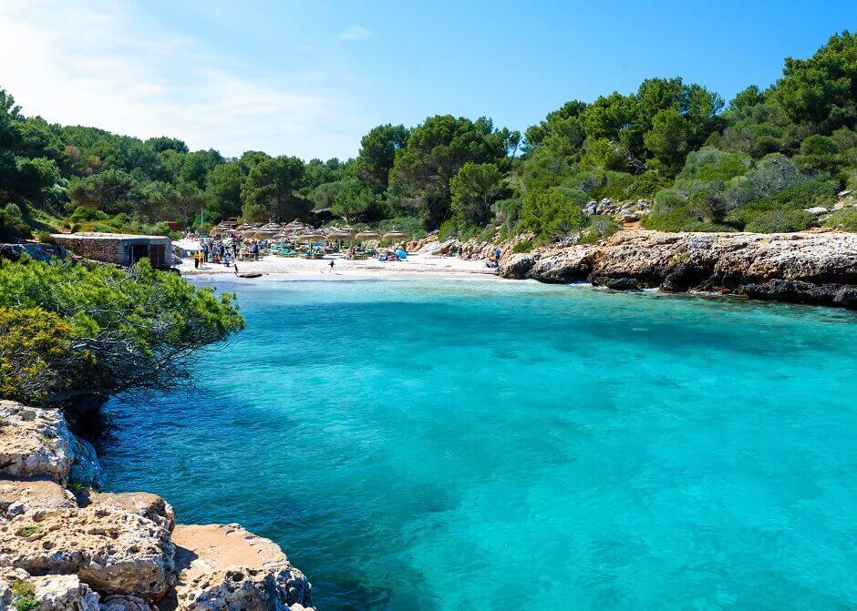 Strand bei Cala Sa Nau