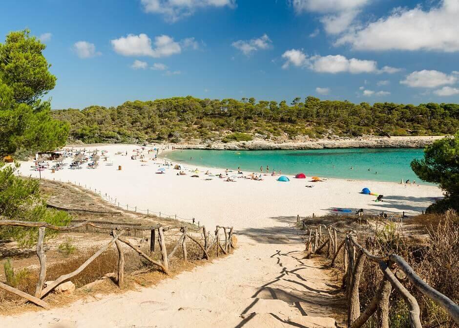 Cala S'Amarador auf Mallorca