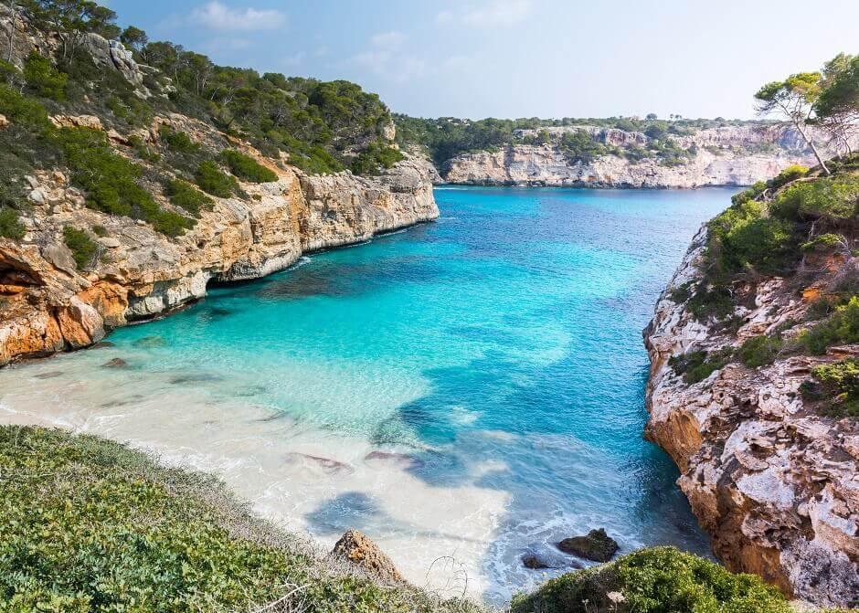 Calo des Moro auf Mallorca