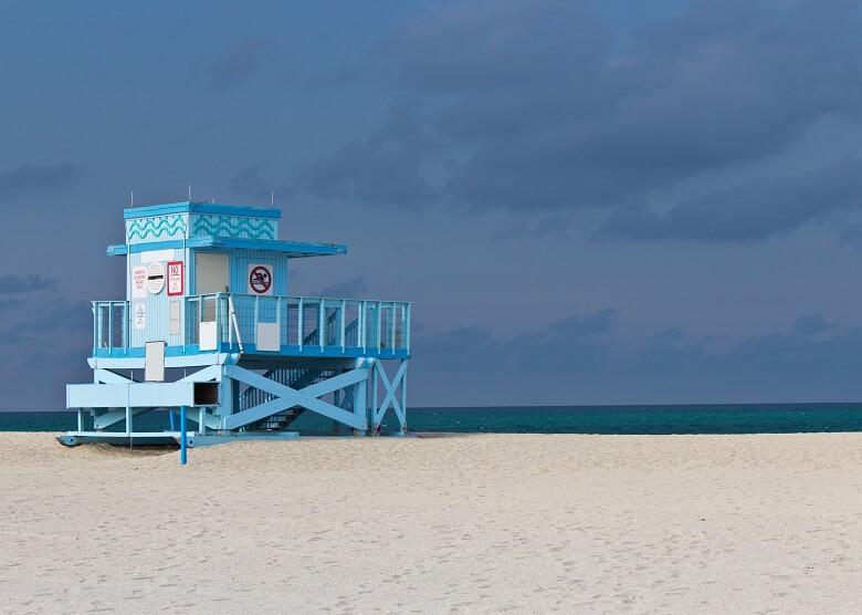 Haulover Beach bei Miami