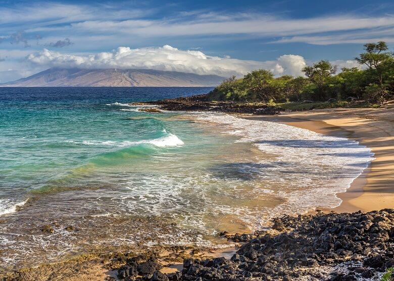 Little Beach auf Hawaii