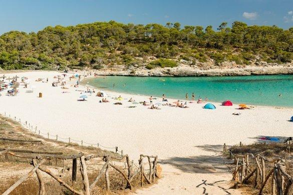 Schöner Strand auf Mallorca