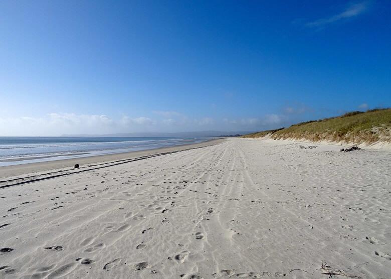 Uretiti Beach in Neuseeland