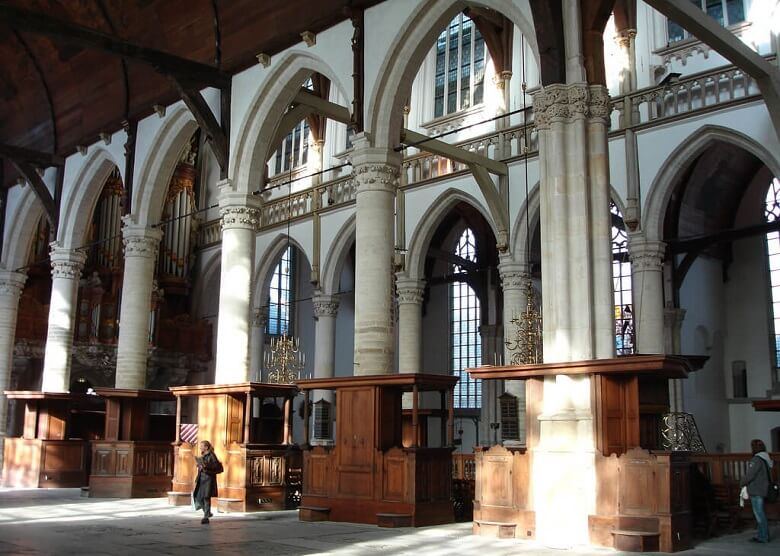 Innenraum der Oude Kerke