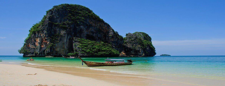 Der Phra Nang Beach bei Krabi