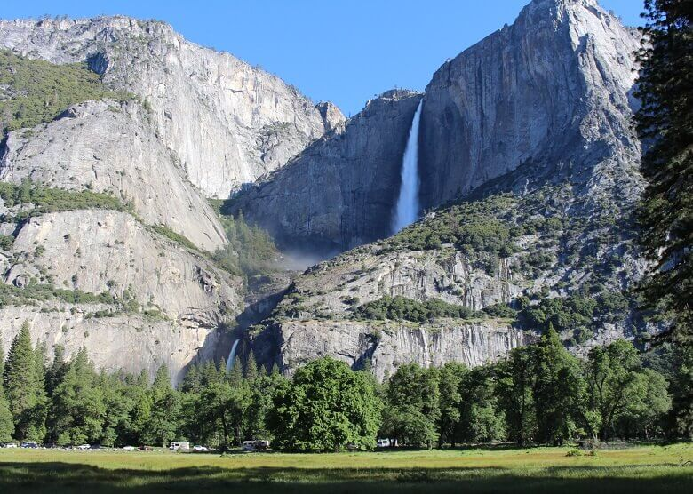 Wasserfall im Yosemite Nationalpark