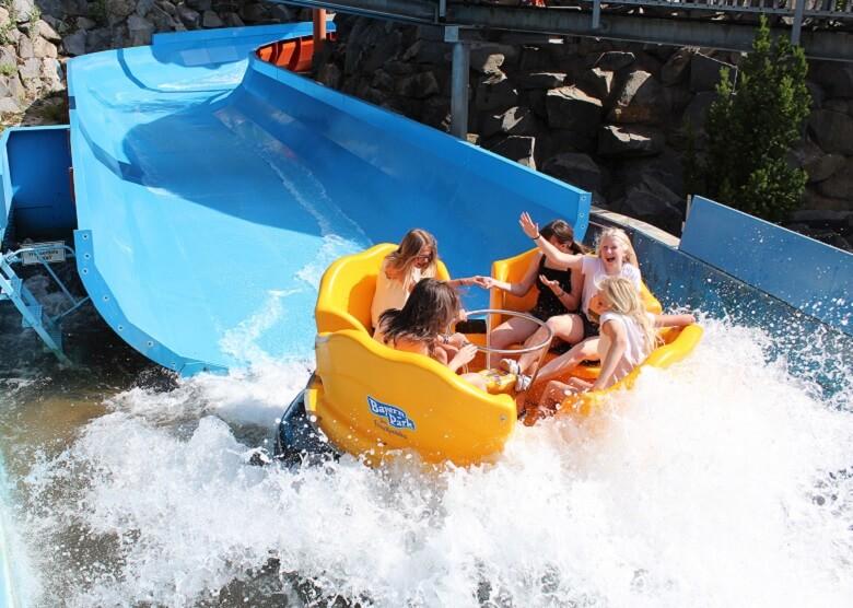 BAyern Park Wildwasser Rafting