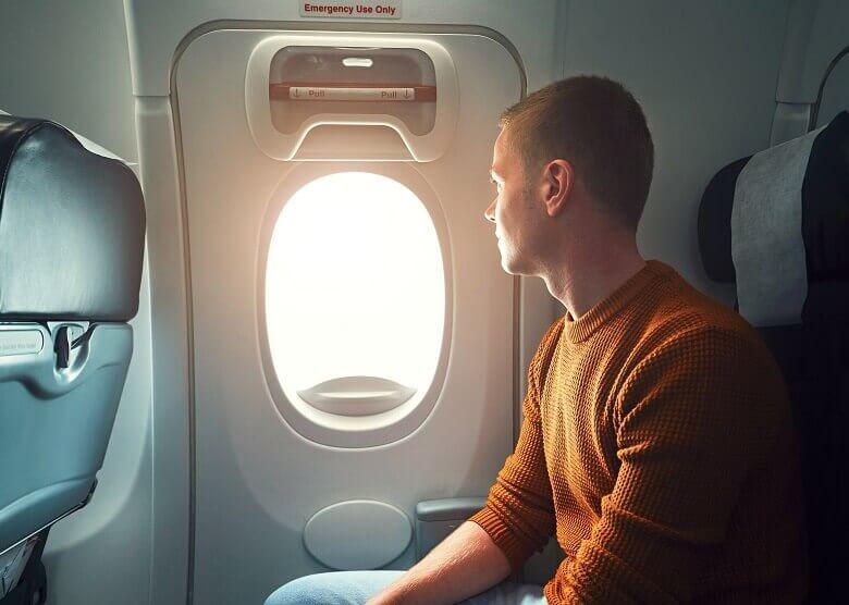 Sitzplatz auf Langstreckenflügen