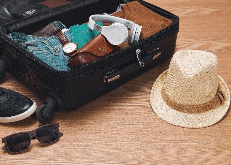 Handgepäck sinnvoll gepackt
