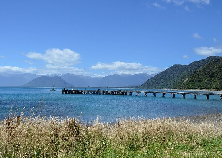 Jackson Bay in Neuseeland