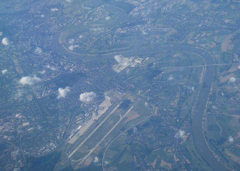 Luftaufnahme Düsseldorf