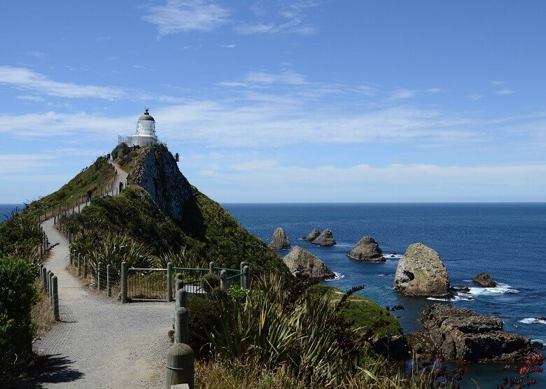 Nugget Point in Neuseeland